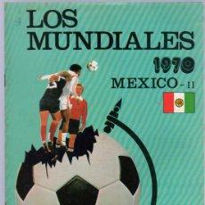 Coleccionismo deportivo: LOS MUNDIALES. MEXICO III. 1970. Nº7.. Lote 126138491