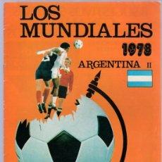 Coleccionismo deportivo: LOS MUNDIALES. ARGENTINA II. 1978. Nº2.. Lote 20419832