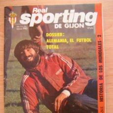 Coleccionismo deportivo: REVISTA SPORTING GIJON, AÑO 3, Nº 24, FEBRERO 1982. Lote 21167114