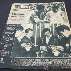 Coleccionismo deportivo: REVISTA BARÇA - Nº 15 - 30 MARZO 1956 - PORTADA, KUBALA Y VILLAVERDE - . Lote 22808123