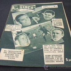 Coleccionismo deportivo: REVISTA BARÇA - Nº 47 EXTRAORDINARIO - 8 NOVIEMBRE 1956 - PORTADA, SUAREZ, DI STEFANO. Lote 22895470