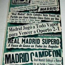 Coleccionismo deportivo: ANTIGUA REVISTA DEL REAL MADRID - FUTBOL - AGOSTO DE 1956 - Nº 73 - TRIUNFAL EXPEDICION A AMERICA, T. Lote 21507217