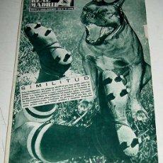 Coleccionismo deportivo: ANTIGUA REVISTA DEL REAL MADRID - FUTBOL - DICIEMBRE DE 1956 - Nº 77 - II COPA DE CAMPEONES EUROPEOS. Lote 21507418