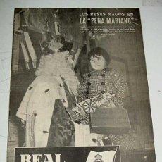 Coleccionismo deportivo: ANTIGUO Y RARISIMO BOLETIN INFORMATIVO DEL REAL MADRID - NUM. 17 - 1952 - TIENE 16 PAGINAS INCLUYEN. Lote 21651167