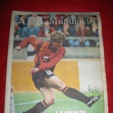 Coleccionismo deportivo: JULEN GUERRERO PORTADA ABC MUNDIAL 1994 ESTADOS UNIDOS ATHLETIC BILBAO 64 PAGINAS COMPLETO. Lote 27344555