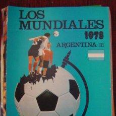 Coleccionismo deportivo: FASCICULO Nº 3 LOS MUNDIALES - ARGENTINA - III 1978 (EDITORIAL 4). Lote 21944271