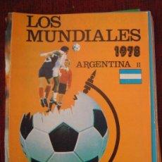 Coleccionismo deportivo: FASCICULO Nº 2 LOS MUNDIALES - ARGENTINA - II 1978 (EDITORIAL 4). Lote 21944297