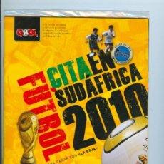 Coleccionismo deportivo: GOOL - CITA EN SUDAFRICA 2010 - GUIA BIBLOCK PARA GANAR CON * LA ROJA *. Lote 123581879
