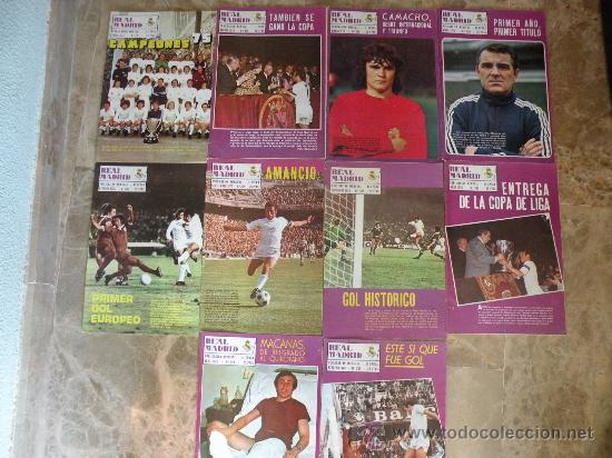 Coleccionismo deportivo: 76 REVISTAS REAL MADRID AÑOS 50-60-70-80 - Foto 2 - 22087295
