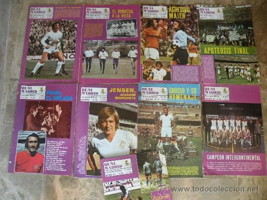 Coleccionismo deportivo: 76 REVISTAS REAL MADRID AÑOS 50-60-70-80 - Foto 3 - 22087295