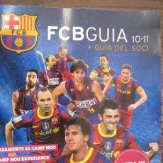 Coleccionismo deportivo: BARÇA FUTBOL CLUB BARCELONA FC REVISTA GUIA EN CATALAN. Lote 22560058