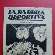 Coleccionismo deportivo: LA BARRILA DEPORTIVA Nº 27 14/4/1925 INTERVIU AMB EN PETRONE. Lote 27283906