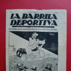Coleccionismo deportivo: LA BARRILA DEPORTIVA Nº 26 7/4/1925 INTERVIU AMB L'ARNAU DEL BARÇA. Lote 27283909
