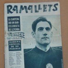 Coleccionismo deportivo: REVISTA ANTIGUA DE BARÇA. ESPECIAL RAMALLETS. AÑO VIII. 1962. NUM 326.. Lote 27611147