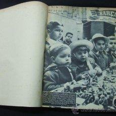 Coleccionismo deportivo: REVISTA BARÇA - AÑO 1955-1956 - REVISTAS DEL Nº 1 AL Nº 54 - ENCUADERNADAS - . Lote 26928418