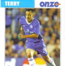 Collectionnisme sportif: FICHA DE LA REVISTA ONZE DE TERRY CON EL CHELSEA - GOLY. Lote 25071916