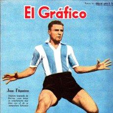 Colecionismo desportivo: REVISTA DEPORTIVA EL GRAFICO 1944 Nº 1318. Lote 23871394