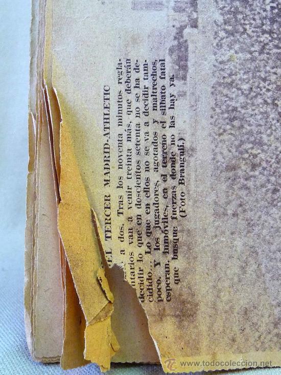 Coleccionismo deportivo: PERIODICO DEPORTIVO CAMPEON, 22 DE ABRIL, 20 CENTIMOS - Foto 6 - 24287085