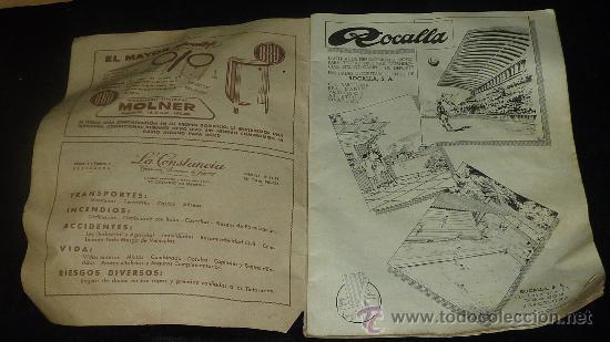 Coleccionismo deportivo: Club Futbol barcelona FCB. Revista informacion 14 año de 1956. barça. - Foto 3 - 24890326