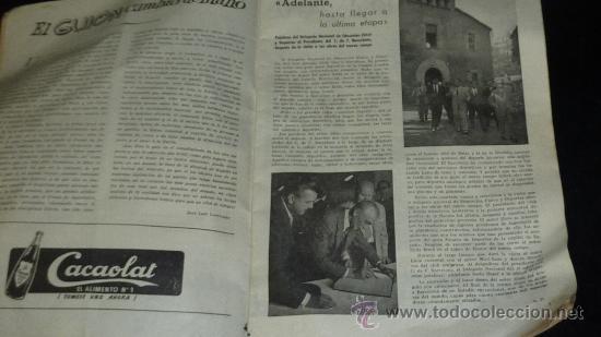 Coleccionismo deportivo: Club Futbol barcelona FCB. Revista informacion 14 año de 1956. barça. - Foto 5 - 24890326