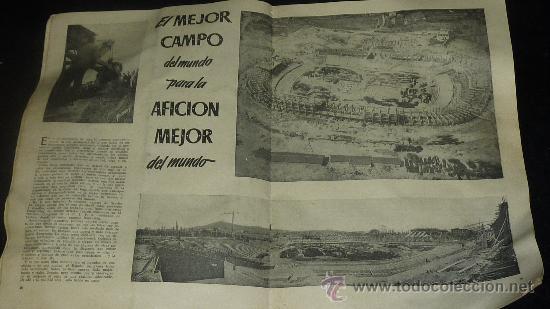 Coleccionismo deportivo: Club Futbol barcelona FCB. Revista informacion 14 año de 1956. barça. - Foto 6 - 24890326