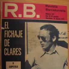 Coleccionismo deportivo: R.B. REVISTA BARCELONISTA Nº 437 AGOSTO 1973 *. Lote 25285834