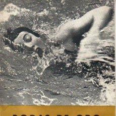 Colecionismo desportivo: REVISTA CLUB NATACIÓN ATLETICO BODAS DE ORO 1913-1963 BARCELONA . Lote 25512483