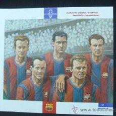 Coleccionismo deportivo: EL GRAN ALBUM DEL BARÇA - BASORA, CÉSAR, KUBALA, MORENO I MANCHÓN - LA VANGUARDIA - . Lote 25549572