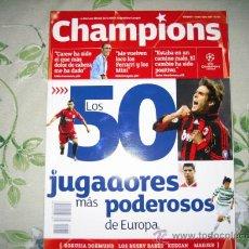 Coleccionismo deportivo: REVISTA CHAMPIONS N 5. Lote 25754056