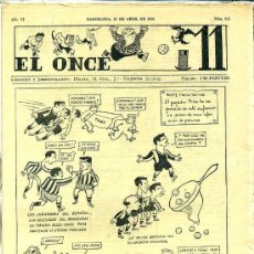 Collectionnisme sportif: EL ONCE Nº 275 - 25 ABRIL 1950. Lote 25805954