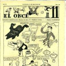 Collectionnisme sportif: EL ONCE Nº 278 - 16 MAYO 1950. Lote 25805985