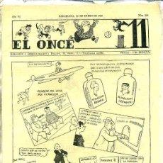 Collectionnisme sportif: EL ONCE Nº 260 - 10 ENERO 1950. Lote 25806201