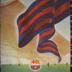 Coleccionismo deportivo: BARÇA FC BARCELONA CF REVISTA DEL FUTBOL CLUB AÑO 1955 HABLA DEL NUEVO ESTADIO N 12 VER FOTOS . Lote 25812229
