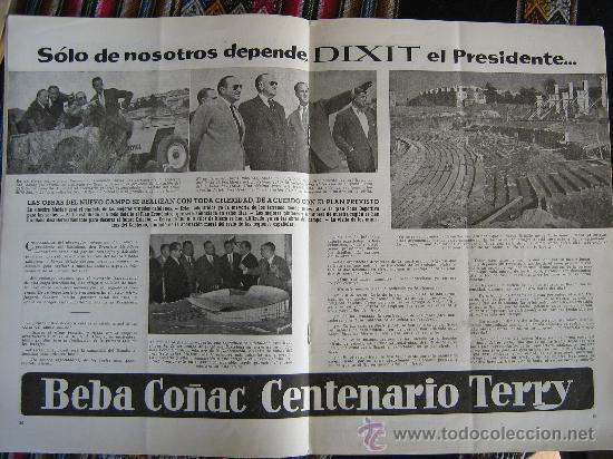 Coleccionismo deportivo: barça fc barcelona cf revista del futbol club año 1955 habla del nuevo estadio n 12 ver fotos - Foto 2 - 25812229