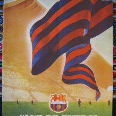 Coleccionismo deportivo: BARÇA FC BARCELONA CF REVISTA DEL FUTBOL CLUB AÑO 1955 HABLA DEL NUEVO ESTADIO N 9 VER FOTOS. Lote 25812361