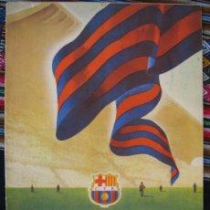 Coleccionismo deportivo: BARÇA FC BARCELONA CF REVISTA DEL FUTBOL CLUB AÑO 1955 HABLA DEL NUEVO ESTADIO N 12 VER FOTOS. Lote 25813087