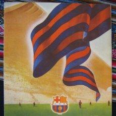 Coleccionismo deportivo: BARÇA FC BARCELONA CF REVISTA DEL FUTBOL CLUB AÑO 1955 HABLA DEL NUEVO ESTADIO N 10 VER FOTOS. Lote 25813171