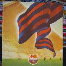 Coleccionismo deportivo: BARÇA FC BARCELONA CF REVISTA DEL FUTBOL CLUB AÑO 1955 HABLA DEL NUEVO ESTADIO N 8 VER FOTOS. Lote 25813285