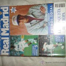 Coleccionismo deportivo: REVISTA REAL MADRID Nº 67 - ABRIL 1995 - POSTER LUIS ENRIQUE. Lote 27516670