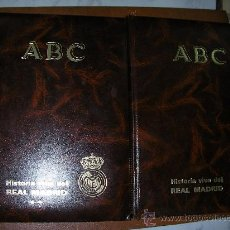 Coleccionismo deportivo: HISTORIA VIVA DEL REAL MADRID DOS TOMO ABC. Lote 26108319