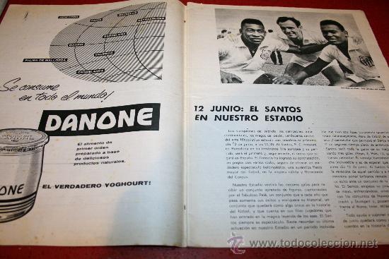 Coleccionismo deportivo: CLUB DE FUTBOL BARCELONA - BOLETIN OFICIAL - AÑO II - Nº 14 - ABRIL 1963 - CAMPO LAS CORTS TRIBUNA - Foto 4 - 26372059