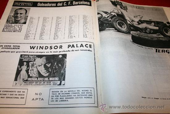 Coleccionismo deportivo: CLUB DE FUTBOL BARCELONA - BOLETIN OFICIAL - AÑO II - Nº 14 - ABRIL 1963 - CAMPO LAS CORTS TRIBUNA - Foto 8 - 26372059