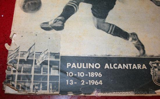 Coleccionismo deportivo: CLUB DE FUTBOL BARCELONA - BOLETIN OFICIAL - AÑO III - Nº 22 - FEBRERO 1964 - PAULINO ALCANTARA - Foto 2 - 26372448