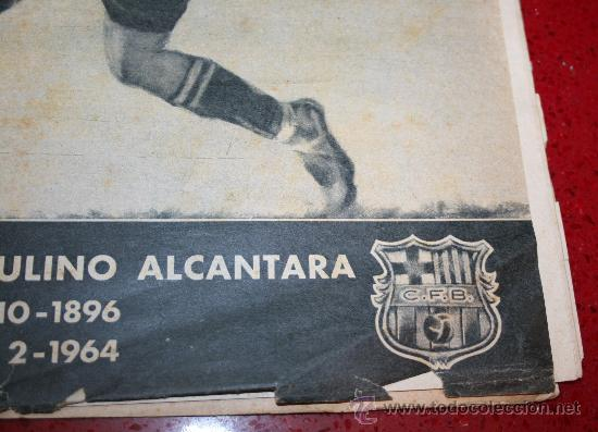 Coleccionismo deportivo: CLUB DE FUTBOL BARCELONA - BOLETIN OFICIAL - AÑO III - Nº 22 - FEBRERO 1964 - PAULINO ALCANTARA - Foto 3 - 26372448