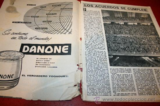 Coleccionismo deportivo: CLUB DE FUTBOL BARCELONA - BOLETIN OFICIAL - AÑO III - Nº 22 - FEBRERO 1964 - PAULINO ALCANTARA - Foto 5 - 26372448