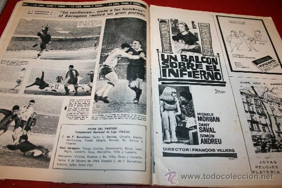 Coleccionismo deportivo: CLUB DE FUTBOL BARCELONA - BOLETIN OFICIAL - AÑO III - Nº 22 - FEBRERO 1964 - PAULINO ALCANTARA - Foto 6 - 26372448