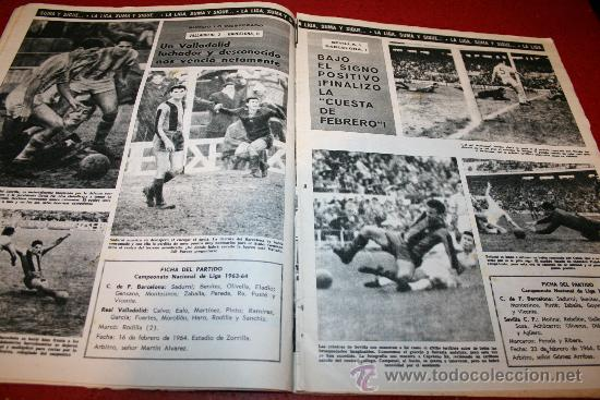 Coleccionismo deportivo: CLUB DE FUTBOL BARCELONA - BOLETIN OFICIAL - AÑO III - Nº 22 - FEBRERO 1964 - PAULINO ALCANTARA - Foto 7 - 26372448