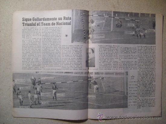 Coleccionismo deportivo: 1952 REVISTA CLUB NACIONAL DE FOOTBALL, FUTBOL URUGUAY. MAGAZINE N° 51 - WALDEMAR GONZALEZ - Foto 4 - 26575655