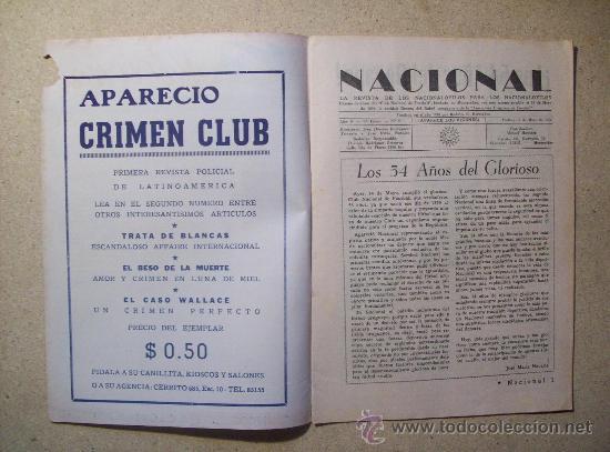 Coleccionismo deportivo: 1953 REVISTA CLUB NACIONAL DE FOOTBALL, FUTBOL URUGUAY. MAGAZINE N° 95 SANTAMARIA - Foto 2 - 26575761
