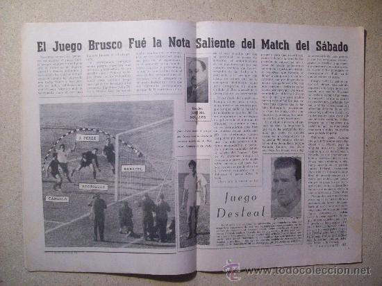 Coleccionismo deportivo: 1953 REVISTA CLUB NACIONAL DE FOOTBALL, FUTBOL URUGUAY. MAGAZINE N° 95 SANTAMARIA - Foto 4 - 26575761